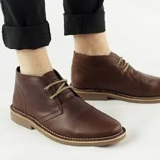 roamers roamers maynard mens leather desert boots brown mens from shuperb uk