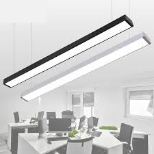 office light fixtures. LED Strip Light Creative Stitching Aluminum Crane Studios Office Fixtures Chandeliers Lighting Fixture-in Pendant Lights From F