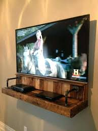 diy tv mount an awesome shelving unit for a and extras made from pallets diy tv mount