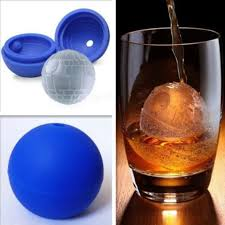 silicone wars star ice cube tray mold maker round ball desert sphere mould
