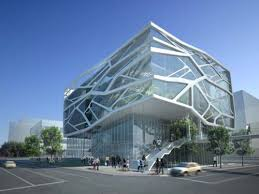 architecture building design. G.Lab Of Gansam Partners, Seoul-based Architects Was Design Green Architecture Concept Building Gimpo Art Hall. Located On The Eastern End A City E