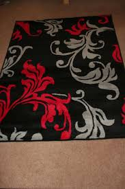 black and white rug modern red grey black damask extra large rug contemporary black and white area rugs home decor black and white rugs