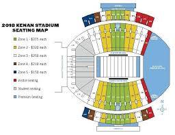 72 Factual Kenan Stadium Seating Chart