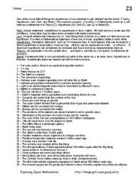 math laws space math ii problem 23 theories hypothesis laws facts