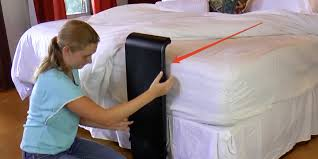 sheet fan bfan attaches to your bed and blows cool air under the sheets