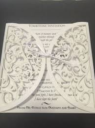 Unveiling Invitations Unveiling Of Tombstone Paper Paradise Home Of Fine Papers