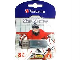 <b>Флешка USB 8Gb Verbatim</b> Mini Graffiti Edition Hockey 049878 ...