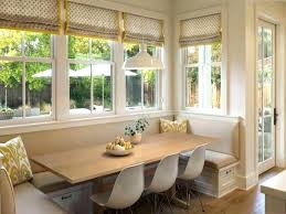 corner breakfast nook furniture contemporary decorations.  Contemporary Best Square Curtains Decor For Decorate Glass Window And Corner  Breakfast Nook Storage Ideas With Contemporary Hanging Light Fixture Above  Inside Furniture Decorations