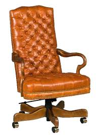 cream swivel desk chair leather office astounding design luxury executive brown faced in