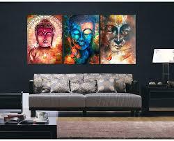 canvas wall art com 3 pieces image portrait art painting canvas wall art picture home decoration
