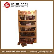 Portable T Shirt Display Stand cardboard display stands for fast food 21