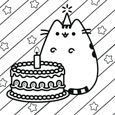 Pink Fluffy Unicorns Dancing On Rainbows Coloring Pages Nice Pusheen