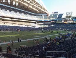 Centurylink Field Seating Chart Seahawks Centurylink Field Section 140 Seat Views Seatgeek