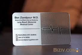 Steel Business Cards Metal Business Cards Biziv Promotional Products