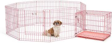 midwest icrate single door dog crate pink in  chewycom