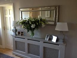 Awesome Hallway Mirrors With Shelf Pics Decoration Ideas