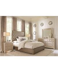 Sofia Vergara Paris Silver 7 Pc Queen Upholstered Bedroom Sofia Vergara Furniture I0