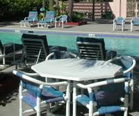 Best Outdoor Furniture Materials  Palm CasualPipe Outdoor Furniture
