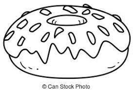 Small Picture Outlined donut Coloring page outline of a donut character