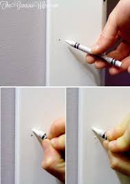 how to easily and frugally fill nail holes with this easy diy and home improvement from thegraciouswife com