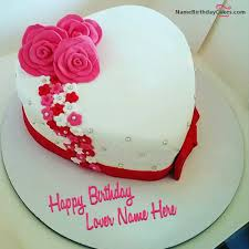 Write Name On Amazing Birthday Cake Girlfriend Picture Hbd Cake In