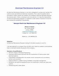 Templates Electrical Maintenanceger Sample Job Description Resume