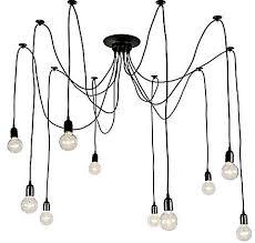 generic 10 head e27 ceiling light spider diy vintage ceiling chandelier light fixtures antique adjule flush