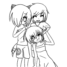 Bff Coloring Pages Chibi Drawings Wwwtopsimagescom