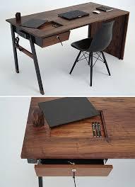 Amazing of Wood Desk Ideas Best Ideas About Wooden Desk On Pinterest Desks  Industrial