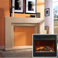 dynasty electric fireplace white wall mounted ivory refurbished