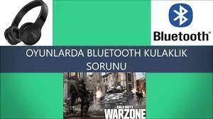 Oyunlarda Bluetooth Kulaklık Çalışmıyorsa İZLE(COD Warzone'da denendi) -  YouTube