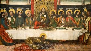 pedro berruguete the last supper oil painting reion