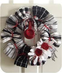 Kitchen Present Kitchen Towel Wreath Great For House Warming Gift Or Wedding Gift