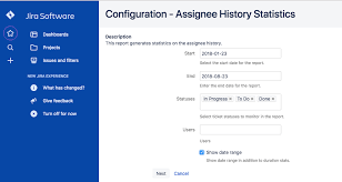Icc Using Issue History Reports Cprime Apps Confluence