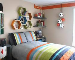 Boy Room Paint Ideas With Wall Shelves