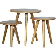 nesting coffee table set home nesting side table set reviews
