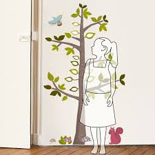 Height Gauge Tree Decorative Growth Chart
