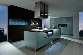modern kitchen colors 2017.  2017 Furniture With Bright Blue Color For The Modern Kitchen  On Modern Kitchen Colors 2017 E