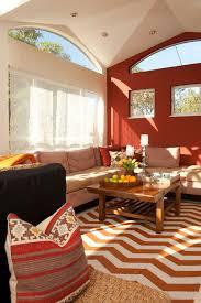 red living room interior design ideas 59