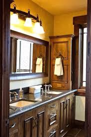 Rustic Bathroom Cabinets Medium Size Of Bathroom Bathroom Double