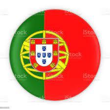 Portuguese Flag Button Flag Of Portugal Badge 3d Illustration Stockfoto und  mehr Bilder von Abzeichen - iStock