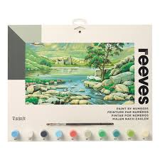 reeves painting by numbers large scottish glen