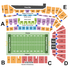 Liberty Bowl Interactive Seating Chart College Football Tickets Ticketsmarter