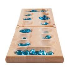 Game With Stones And Wooden Board Wooden Folding Mancala Game Gaming 63