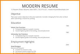 Resume Simple Format Gorgeous Simple Resume Format Simple Format Vintage Simple Resume Sample Doc