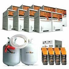 9 tiger foam ft e fast rise spray insulation kits open cell kit closed uk bulk