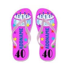 Splendid 40th Flip Flops