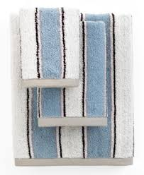 Bianca Bath Towels, Aquarelle Blue Stripe 13