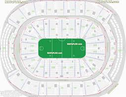 Air Canada Centre Seat Map Center Seat Numbers 1 Million