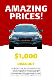 Placeit Car Sale Online Flyer Maker